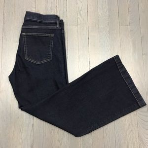 Gap Authentic Flare 31 Short Dark Wash Denim Jeans